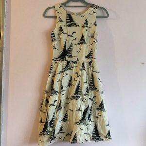 ModCloth sailboat dress (US 4)